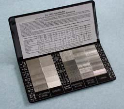 Type 130: Composite Set of Roughness Specimens