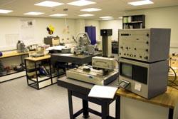 Measuring laboratory interior