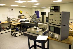 Measuring laboratory interior